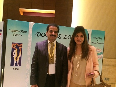 Anjali Mukherjee Well Known Nutritionist at LOC's Conference