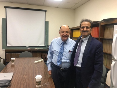 Dr Ralph DeFronzo with Dr Shashank Shah