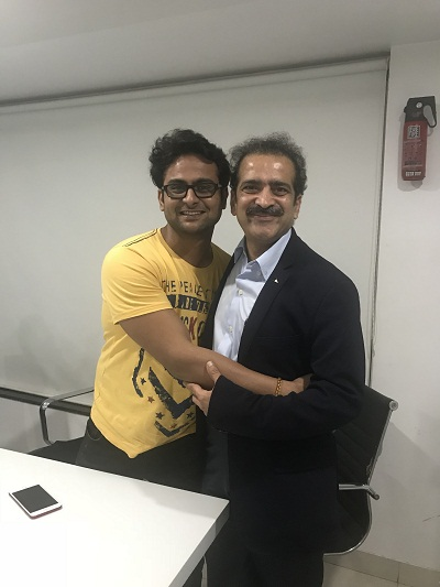 He is a mimicry artist, actor, comedian, show anchor and a doctor with Dr Shashank Shah