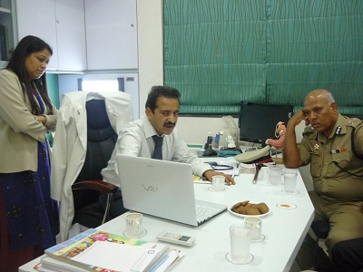 IPS Officer with Dr Shashank Shah