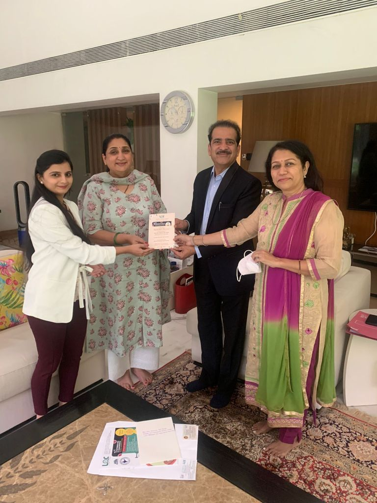 Hon Mrs Sunetra Ajit Pawar