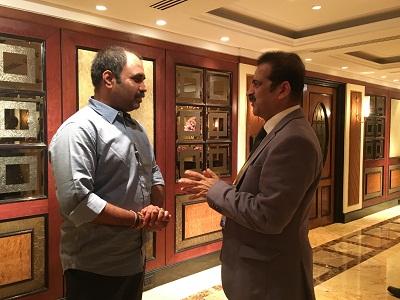 Ex- Cabinet Minister,Maharashtra with Dr Shashank Shah