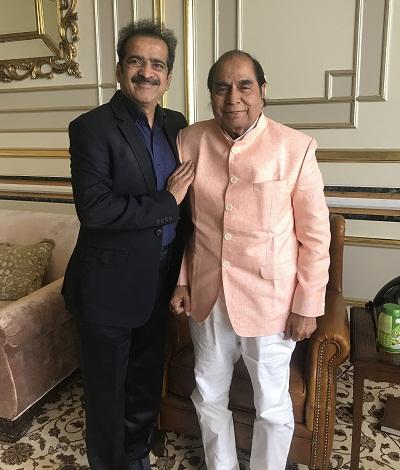Padmashri Dr D Y Patil with Dr Shashank Shah