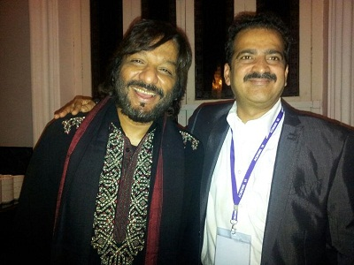 Indian music director with Dr Shashank Shah
