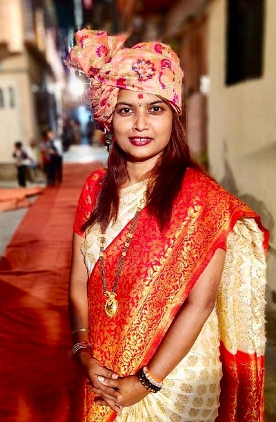 Sandhya Doshi Shiv Sena corporator from Navi Mumbai