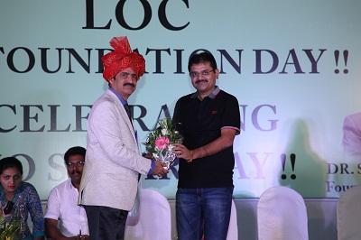 Sharad Teli (MLA Kulgaon- Badlapur) with Dr Shah