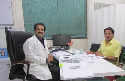 Sudhir Gadgil with Dr Shashank Shah