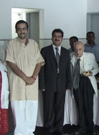 A descendant of the Bobbili royal family from Andhra Pradesh with Dr Shashank Shah