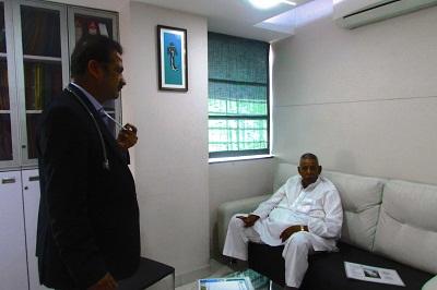 Ex-Mayor of Pune with Dr Shashank Shah
