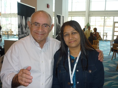 Walter J. Pories, MD, FACS, Professor of Surgery, Biochemistry and Kinesiology with Dr Shashank Shah
