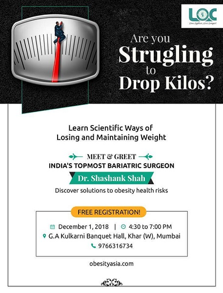 Are you struggling to drop kilos