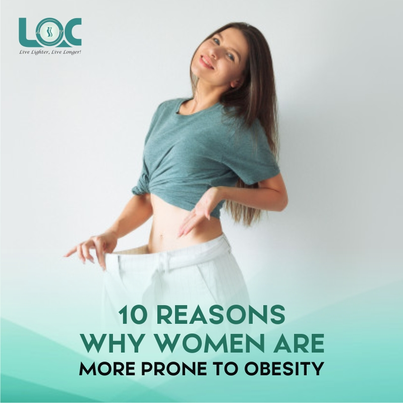 10 reasons why women are more prone to obesity